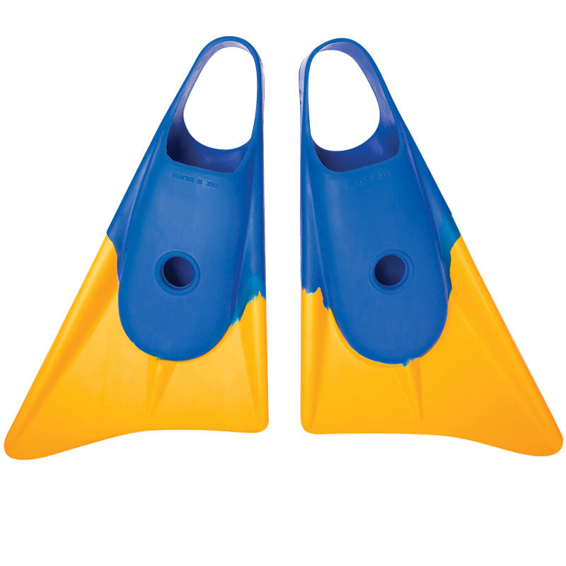 Limited Edition Fins - Blue/ Yellow
