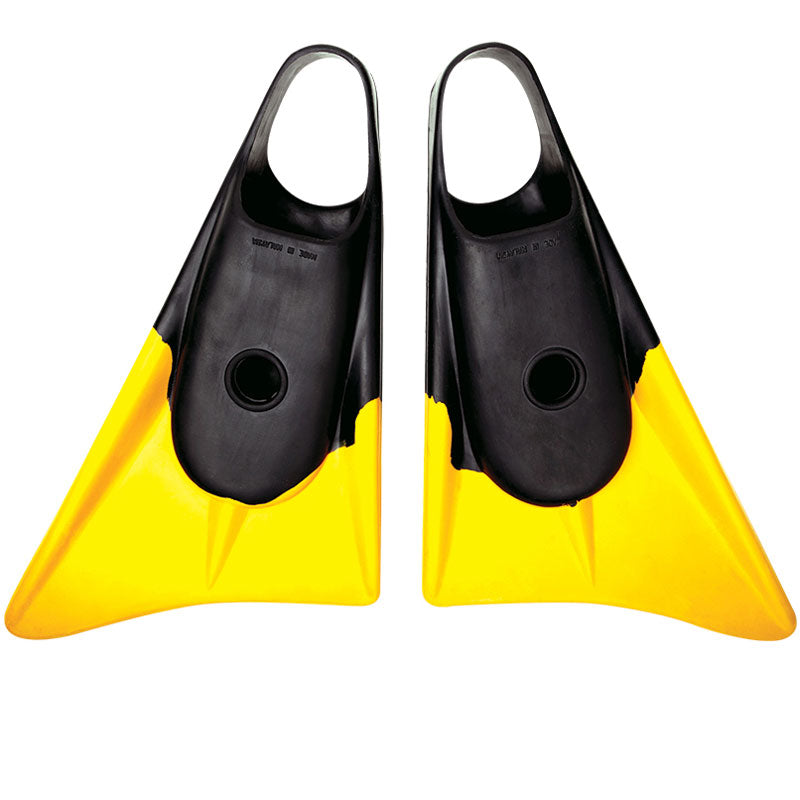 Limited Edition Fins - Black/ Yellow