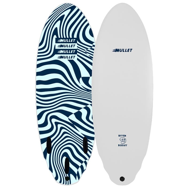 Mullet Bitten Biscuit 5ft 4 Soft Surfboard