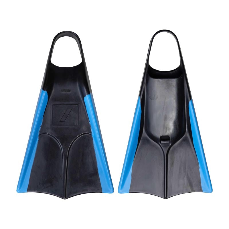 Nife N2 Fins - Black/ Ice Blue