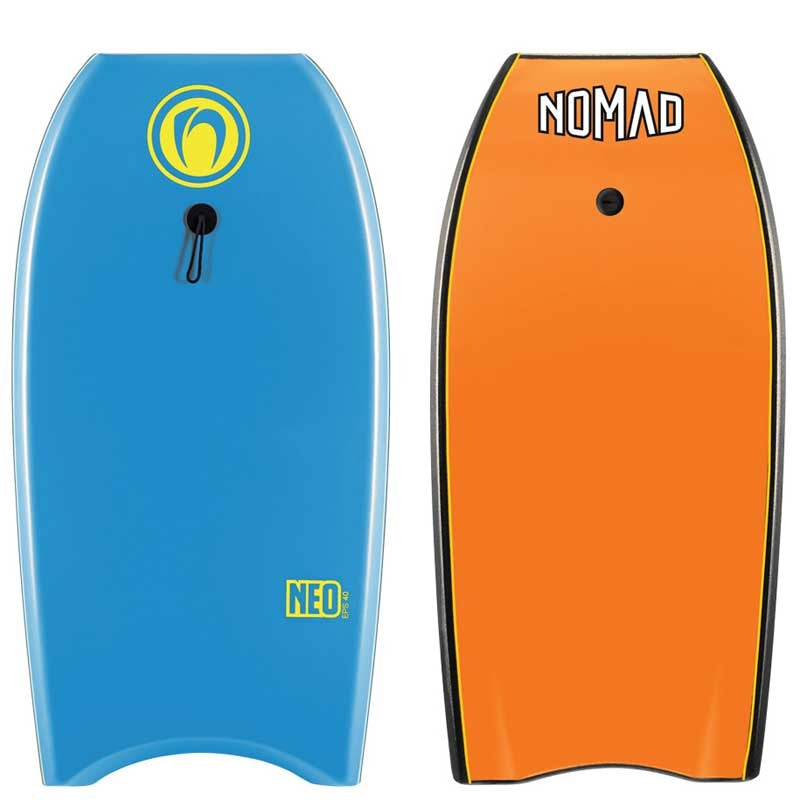 Nomad Neo EPS 2020 Bodyboard in blue and orange