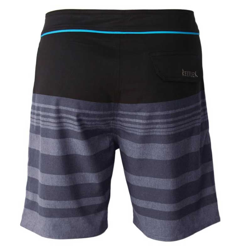 Reeflex Flex Boardshorts - Black/Grey
