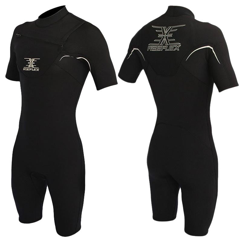 Reeflex Short Black 2/2mm Springsuit - Black