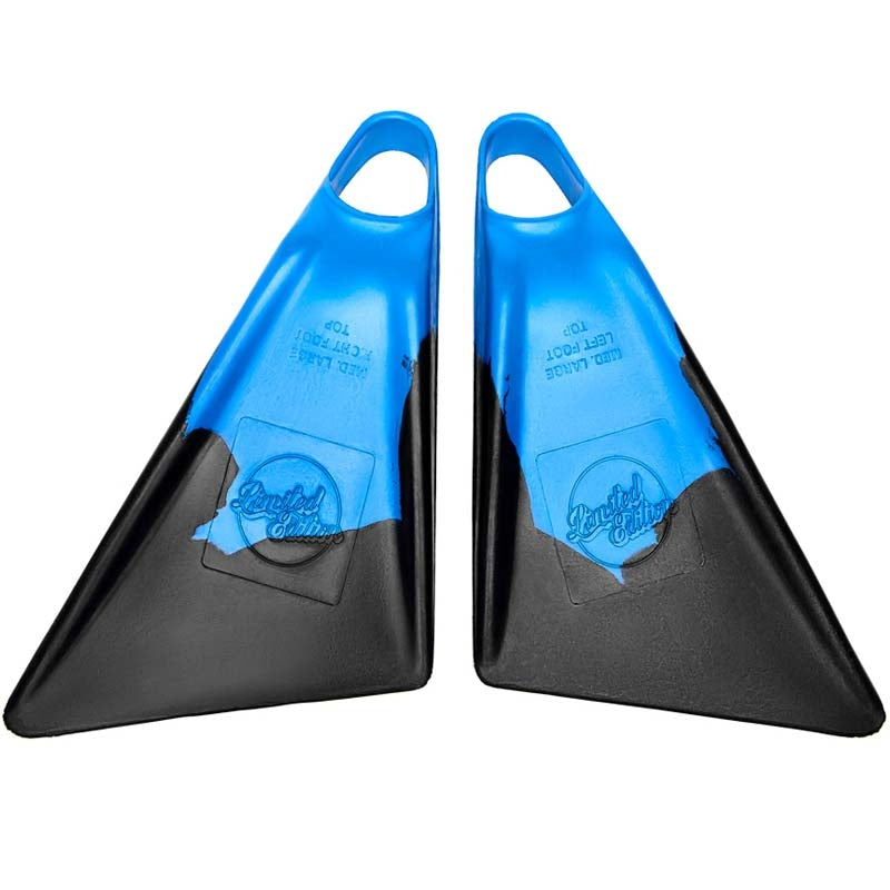 Limited Edition Fins - Sylock Blue Black