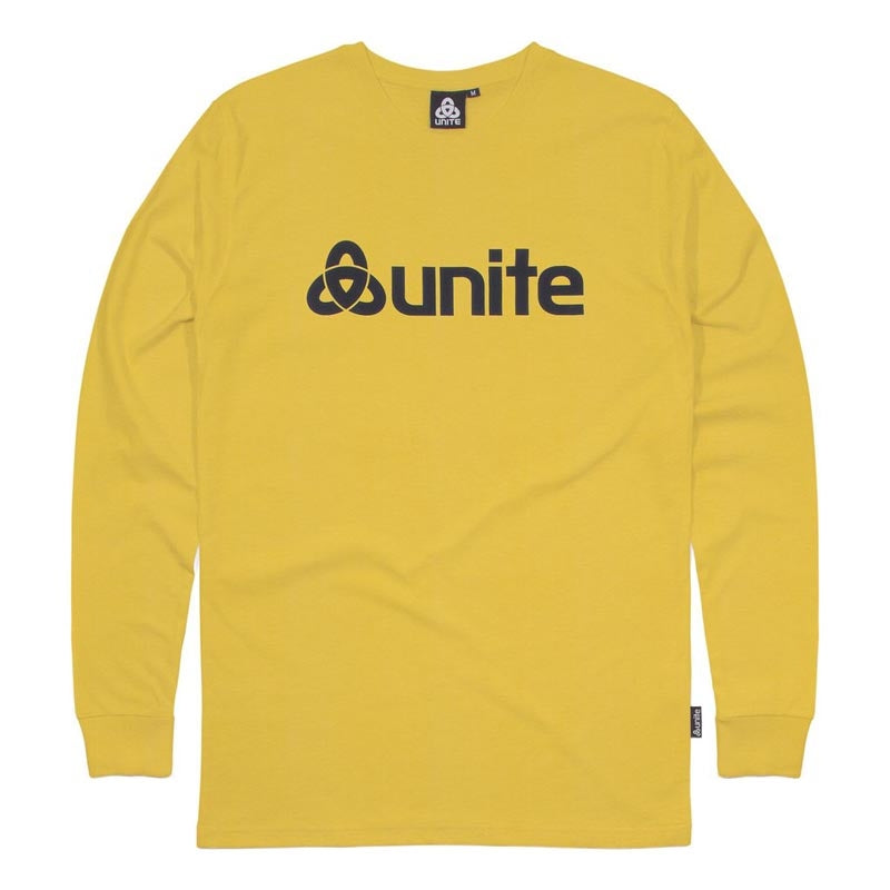 Unite Trademark L/S T-Shirt - Yellow