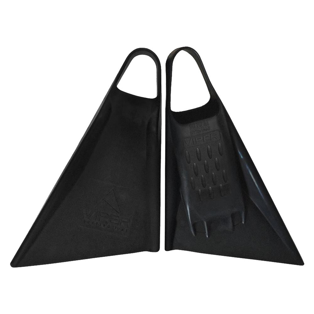 Viper Delta Fins (2nd Gen) - Black