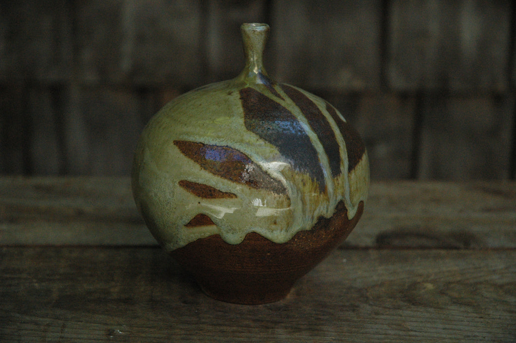 Vase, Wood Fired 5 3/4 inches tall