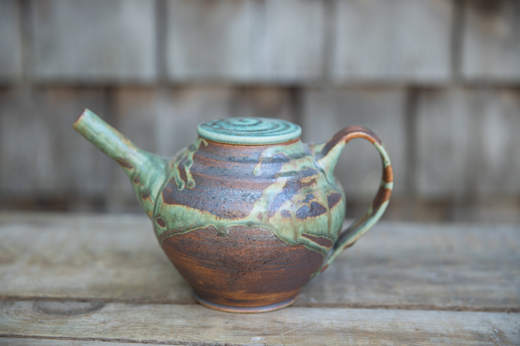 Small Teapot in Turquoise