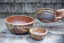 Load image into Gallery viewer, Nesting Bowl Set in Rust, 3 Pc.