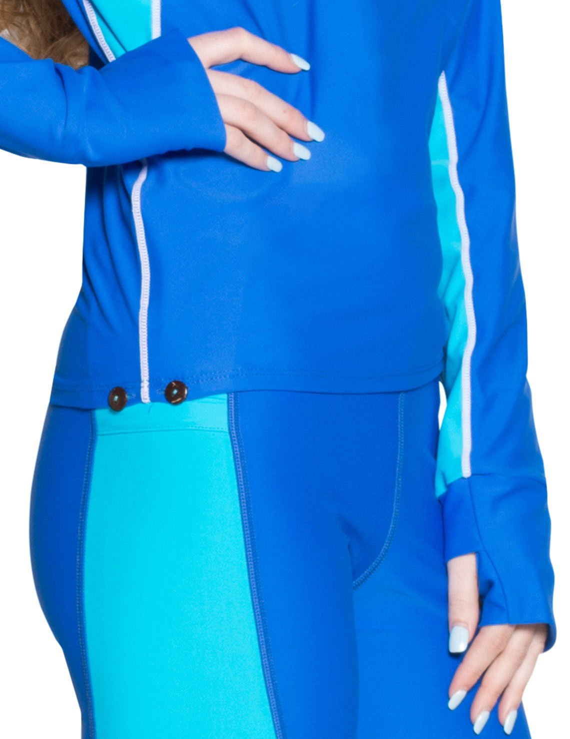 Tuga leggins for snorkeling in turquoise