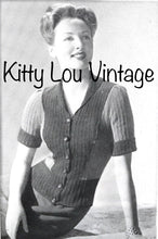 Load image into Gallery viewer, 1940s Stitchcraft Magazine March 1943 - Vintage Knitting Pattern Book PDF - Digital PDF