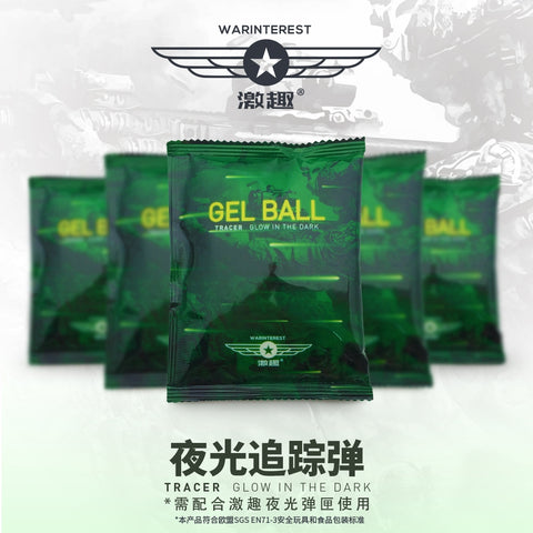LDT War Interest Glow Gel Balls
