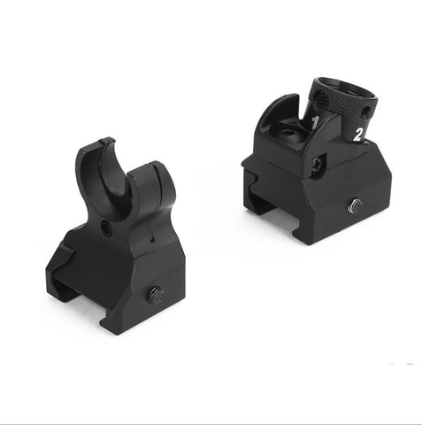 Gel Blaster Metal Hk416 Front Rear Sight Set