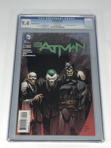 DC Batman #40 (2015) Retailer Incentive 1:25 Andy Kubert Cover CGC 9.4