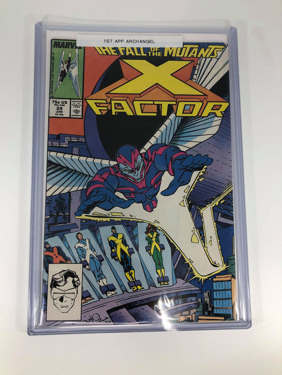 Marvel X-Factor #24 (1988) 1st Archangel Origin of Apocalypse Very Fine+ condition
