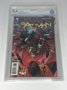 DC Batman #37 (2015) Andy Kubert 1:25 Retailer Incentive CBCS 9.4