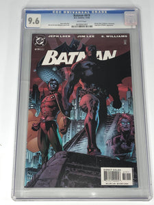 DC Batman #619 (2003) Red Variant CGC 9.6