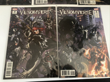 Marvel Venomverse (2017) Clayton Crain Connecting Covers Variants #1-5 Full Set