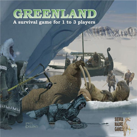 Greenland by Sierra Madre Games 1st Edition 2014