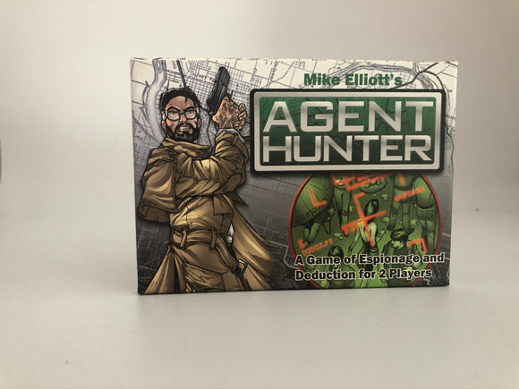 Mike Elliot's Agent Hunter - A Game of Espionage and Deduction