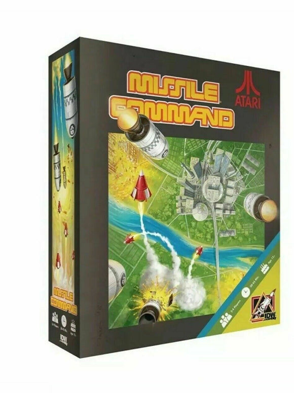 Atari Missile Command Board Game by IDW Games
