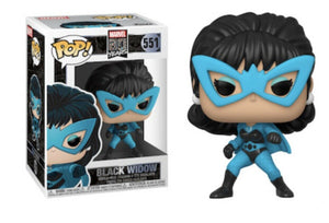 Funko Pop! Vinyl Marvel 80 Years First Appearance Black Widow #551