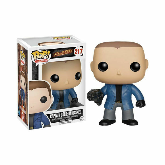 Funko Pop! Vinyl Television The Flash CW Captain Cold Unmasked #217 Underground Toys Exclusive