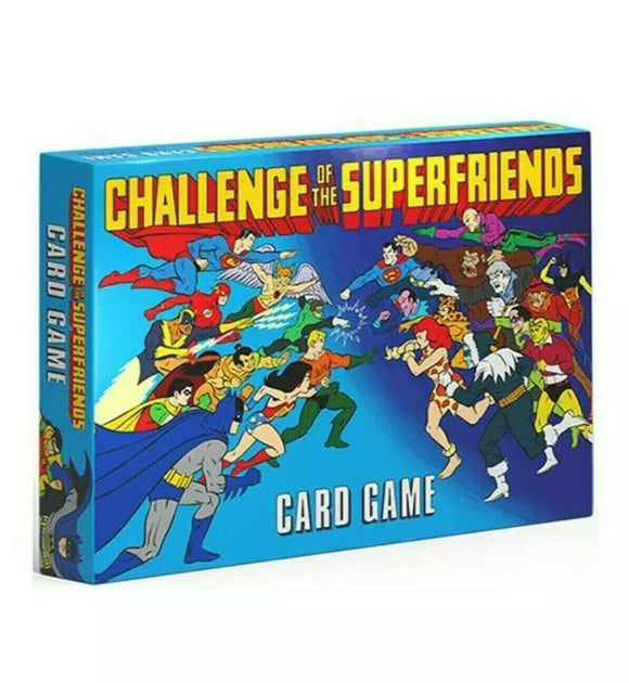 DC Superheroes: Challenge of the Superfriends Card Game