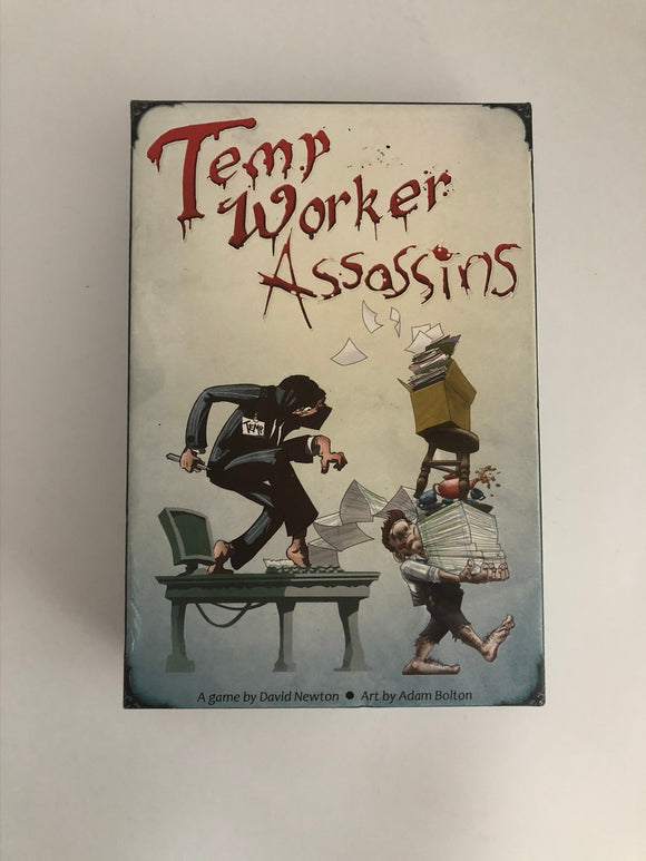 David Newton Games Temp Worker Assasins