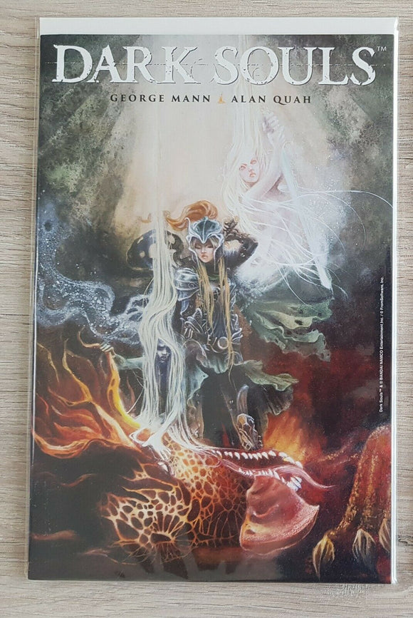 Titan Comics Dark Souls: The Breath of Andolus Diamond Px Previews Variant RARE