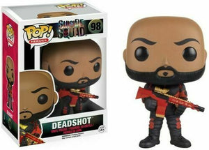 Funko Pop! Vinyl DC Heroes Suicide Squad Deadshot Will Smith #98