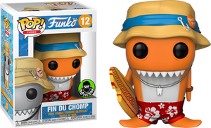 Funko POP! Vinyl Fantastik Plastik Orange Fin Du Chomp #12 Popcultcha Exclusive