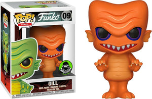 Funko Pop! Vinyl Fantastik Plastik Orange Gill Popcultcha Exclusive #09