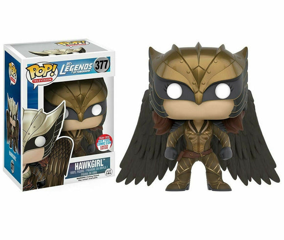 Funko POP! Vinyl Figure HAWKGIRL #377 DC Legends of Tomorrow NYCC 2016 Exclusive