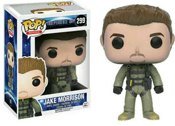 Funko Pop! Vinyl Movies Independence Day Resurgence Jake Morrison #299