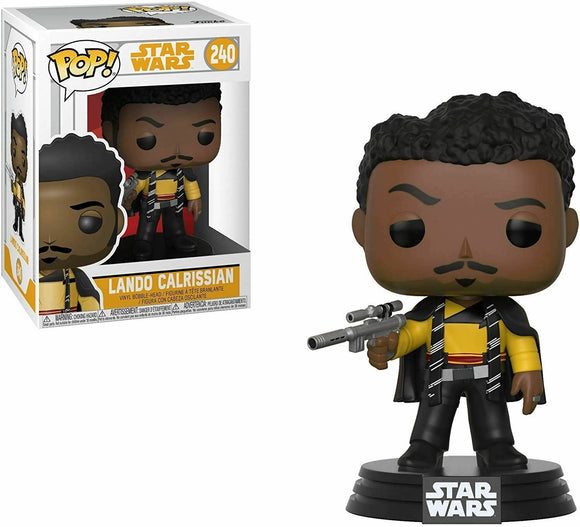 Funko Pop! Vinyl Star Wars Lando Calrissian Solo #240