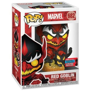 Funko Pop! Vinyl Marvel Red Goblin #682 New York Fall Convention 2020 NYCC Exclusive Limited Edition