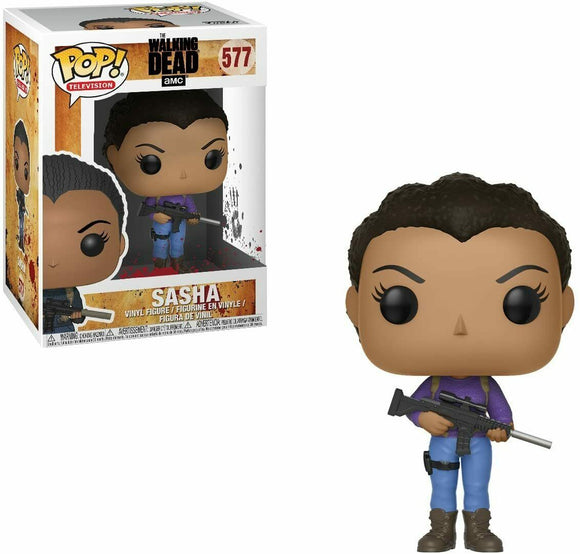 Funko Pop! Vinyl Television The Walking Dead Sasha #577