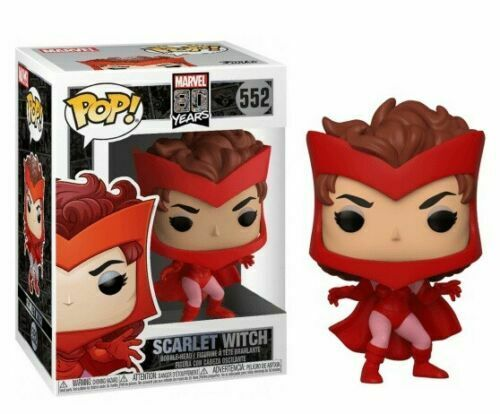 Funko Pop! Vinyl Marvel 80 Years First Appearance Scarlet Witch #552