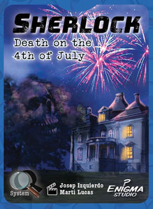 Sherlock: Death on the 4th of July Card Game