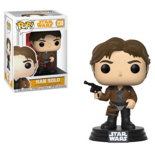 Funko Pop! Vinyl Star Wars SOLO a Star Wars Story Han Solo #238