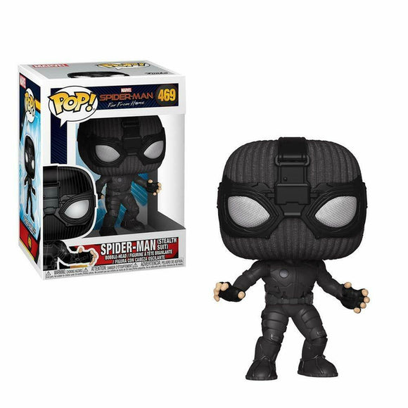 Funko Pop! Vinyl Marvel Spider-Man Far from Home Stealth Suit #469