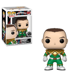 Funko Pop! Vinyl Television Power Rangers Tommy 669 25th Anniversary