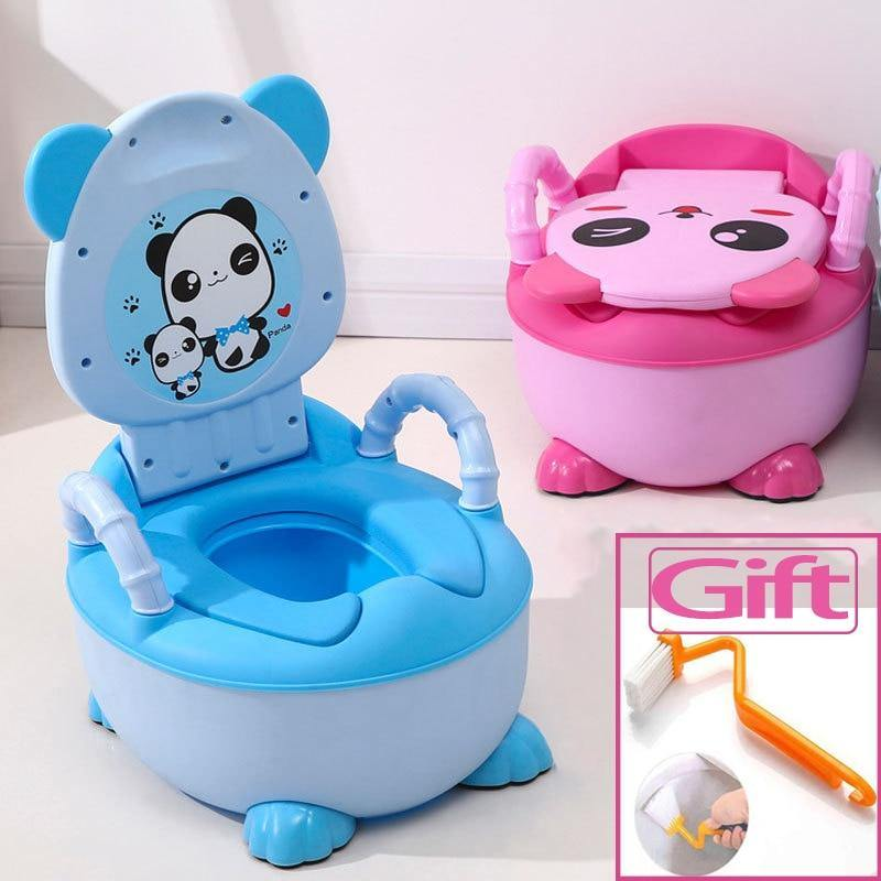 Soft Baby Plastic Potty - My Sweet Tots