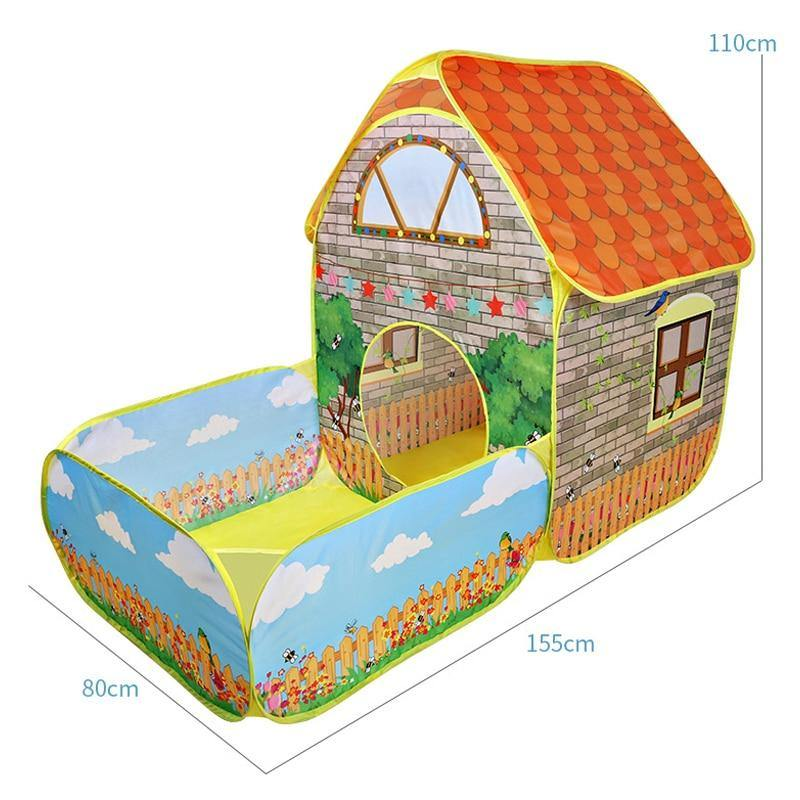Kids Pop Up Tents House - My Sweet Tots