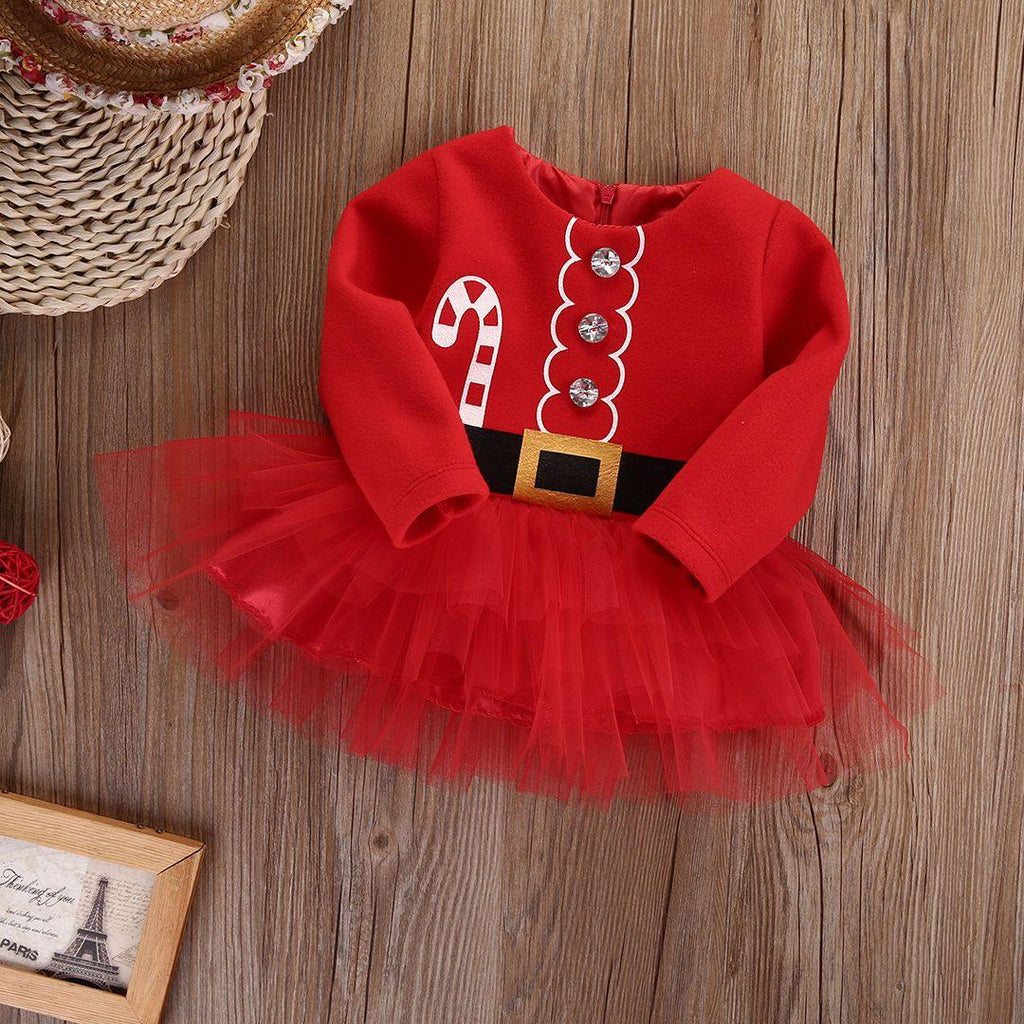 Baby Christmas Princess Dress