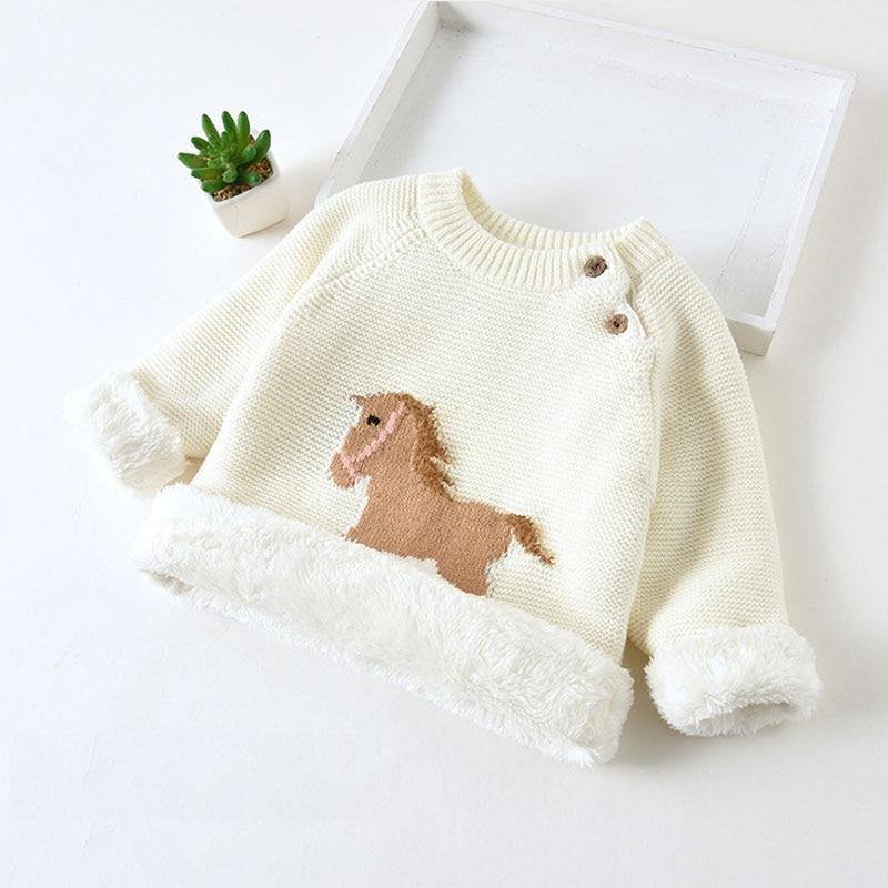 Kids Warm Wool Sweater