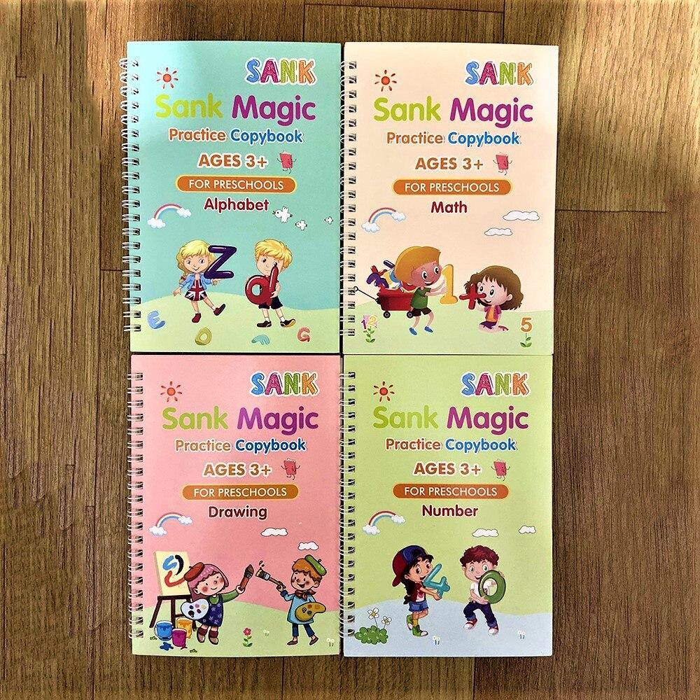 MAGIC Calligraphy Copybook - My Sweet Tots