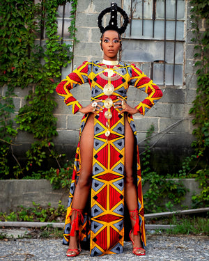 African Warrior Dress
