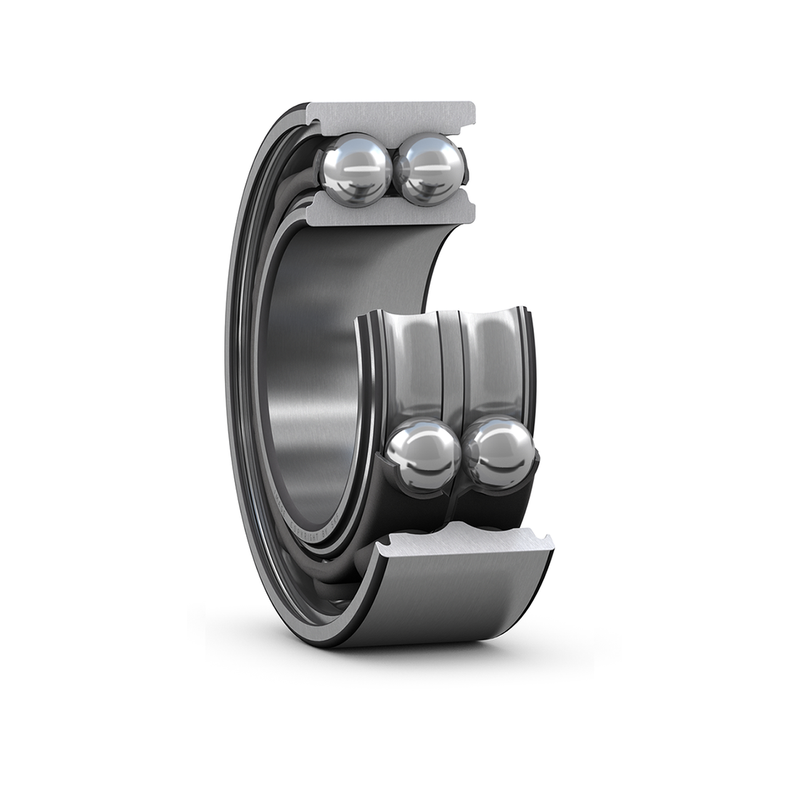 Part Number 3216-M by NSK Angular Contact Ball Bearing, type, cross reference and dimension